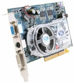 Видеокарта Sapphire Radeon X1650 Pro 590Mhz AGP 512Mb 1380Mhz 128 bit DVI TV