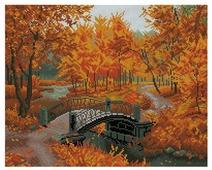 Белоснежка Набор алмазной вышивки Осенний парк (306-ST-S) 50x40 см