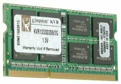 Оперативная память 2 ГБ 1 шт. Kingston KVR1333D3S9/2G