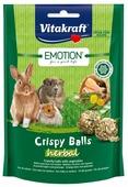 Лакомство для кроликов, грызунов Vitakraft Emotion Crispy Balls травы