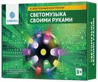Электронный конструктор Intellectico Своими руками 1005 Светомузыка