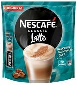 Растворимый кофе Nescafe Classic Latte, в стиках