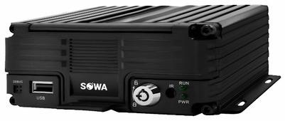Видеорегистратор SOWA MVR 104GW4G, без камеры, GPS, ГЛОНАСС