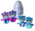 Интерактивная мягкая игрушка Hatchimals Surprise Twins - Peacat 19110-PURP