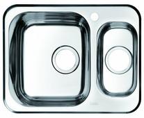 Врезная кухонная мойка IDDIS Strit STR60PXi77 60.5х48см нержавеющая сталь