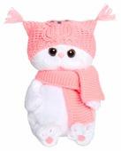 "Мягкая игрушка Basik&Co Кошка Ли-Ли baby в шапке ""Сова"" 20 см"