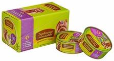 Корм для собак Деревенские лакомства Домашние обеды ягненок, печень с тыквой 100г (для мелких пород)