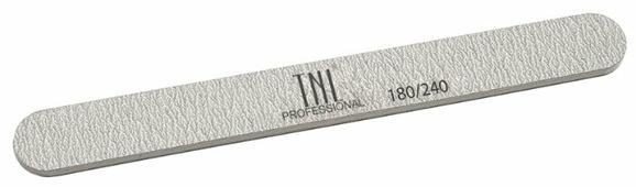 TNL Professional Пилка узкая хит продаж, 180/240 грит (в индивидуальной упаковке)