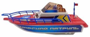 """Игрушка для ванной ABtoys Катер """"Морской патруль"""" (C-00205)"""