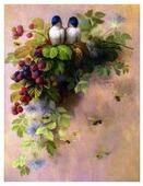 Color Kit Набор для вышивания бисером Милые птички