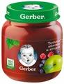 Пюре Gerber Только яблоко и ягоды (с 5 месяцев) 130 г, 1 шт