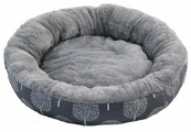 Лежак для кошек, для собак Triol Сказочный лес S круглый (31931040) 53х53х10 см