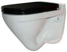 Чаша унитаза подвесная SANITA LUXE Attica Black