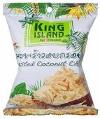 Чипсы King Island кокосовые Оригинальные