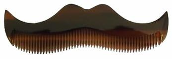 Расческа для усов и бороды Morgan's Moustache Comb Amber