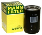 Масляный фильтр MANNFILTER W940/25