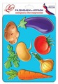 Трафарет Луч Овощи (9C 487-08)