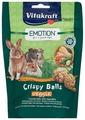 Лакомство для кроликов, грызунов Vitakraft Emotion Crispy Balls овощи