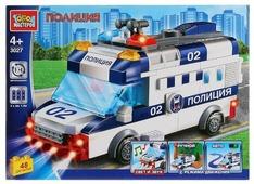 Электромеханический конструктор ГОРОД МАСТЕРОВ Полиция 3027 Полицейская машина