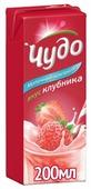 Молочный коктейль Чудо Со вкусом клубники 1.6%, 200 мл