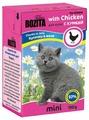 Корм для котят Bozita MINI с курицей 190 г (кусочки в желе)