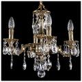 Bohemia Ivele Crystal 1707/4/125/A/GB, E14, 160 Вт