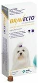 Бравекто (MSD Animal Health) таблетки от блох и клещей для собак 2-4,5 кг