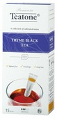 Чай черный Teatone Thyme в стиках
