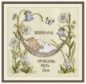 Овен Цветной Вышивка крестом Наш цветочек 24 х 23 см (941)