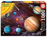 Пазл Educa Neon Солнечная система (14461), 1000 дет.