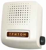 Звонок проводной Соло электрон. гонг регул. громкости 220В 80-90дБА бел. Тритон СЛ-04Р, 1шт