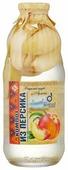 Компот Ecofood Armenia из персиков, стеклянная бутылка 1000 мл