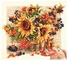 Чудесная Игла Набор для вышивания Рябиновые бусы 40 x 34 см (40-76)