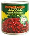 Фасоль Кормилица красная натуральная, жестяная банка 400 г 425 мл