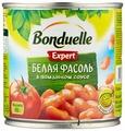 Фасоль Bonduelle Expert белая в томатном соусе, жестяная банка 400 г