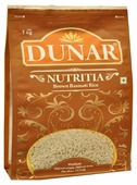 Рис Dunar Басмати Nutritia коричневый длиннозерный нешлифованный 1 кг