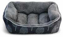 Лежак для кошек, для собак Triol Сказочный лес S прямоугольный 48х41х16 см