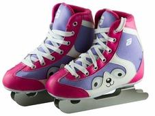 Детские прогулочные коньки ATEMI AKSK-17.07 Snow Baby Girl для девочек