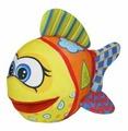 Мягкая игрушка СмолТойс Рыбка развивашка 36 см