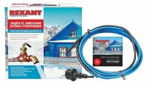 Греющий кабель саморегулирующийся REXANT 15MSR-PB 20M