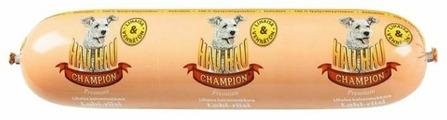 Корм для собак Hau-Hau Champion Колбаса с лососем и рисом
