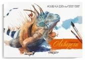 Планшет для акварели Феникс Игуана 42 х 29.5 см, 220 г/м², 20 л.