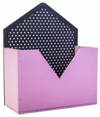Кашпо Дарите счастье конверт, 18×8×22 см