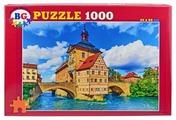 Пазл BG Замок с мостами (Пз1000_2940), 1000 дет.