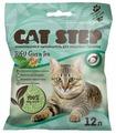 Комкующийся наполнитель Cat Step Tofu Green Tea растительный 12 л