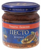 Соус Rundale Песто с томатами и базиликом, 180 г