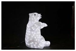 Фигурка NEON-NIGHT Белый медведь 53 см