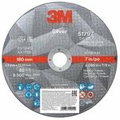 Диск отрезной 180x2x22.23 3M Silver T41 51797