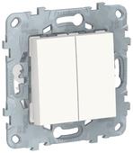 Перекрестный переключатель Schneider Electric NU521518, белый