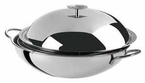Сковорода-вок Cristel Complements WOKT38 38 см с крышкой